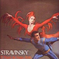 Discos de vinilo: IGOR STRAVINSKY LP EL PAJARO DE FUEGO-PETROUSHKA VER FOTO ADICIONAL . Lote 11643171