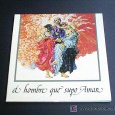 Discos de vinilo: MADROÑAL - B.S.O. EL HOMBRE QUE SUPO AMAR (COLUMBIA, 1975) PROMO - PORTADA DOBLE PLASTIFICADA.. Lote 27252435