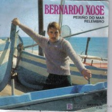 Discos de vinilo: GALICIA - BERNARDO XOSE - PEIXIÑO DO MAR . Lote 25924204