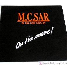 Discos de vinilo: M.C.SAR & REAL MCCOY BROS ··· ON THE MOVE! - (LP 33 RPM). Lote 26855038