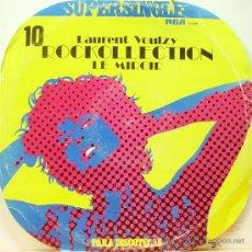 Discos de vinilo: LAURENT VOULZY - ROCKOLLECTION + LE MIROIR MAXI SINGLE VINILO EDITADO POR RCA EN 1977. Lote 4686785