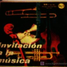 Discos de vinilo: INVITACIÓN A LA MÚSICA. Lote 24063039