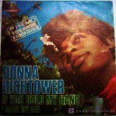 Discos de vinilo: DONNA HIGHTOWER . Lote 24371552
