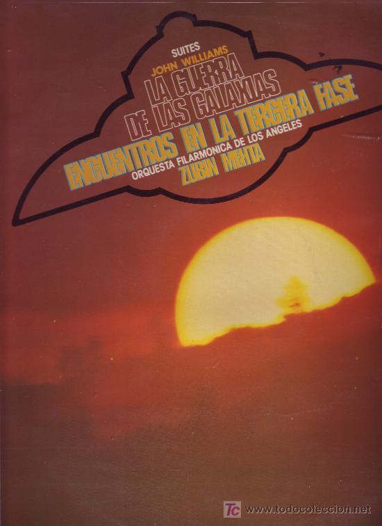 SUITES JOHN WILLIAMS LP PROMOCIONAL ZUBIN MEHTA STAR WARS VER FOTO ADICIONAL (Música - Discos - LP Vinilo - Bandas Sonoras y Música de Actores )