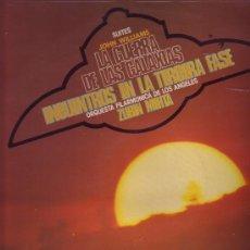 Discos de vinilo: SUITES JOHN WILLIAMS LP PROMOCIONAL ZUBIN MEHTA STAR WARS VER FOTO ADICIONAL. Lote 7283229