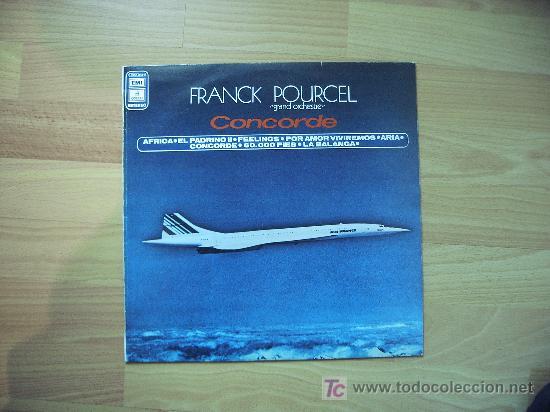 LA ORQUESTA DE FRANCK POURCEL (Música - Discos - LP Vinilo - Orquestas)