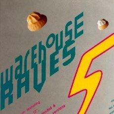 Discos de vinilo: WAREHOUSE RAVES 5 ··· VARIOS - (LP DOBLE 33 RPM) ··· NUEVO. Lote 26759427