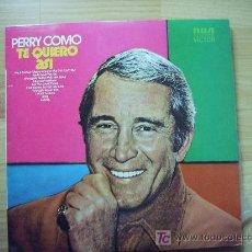 Discos de vinilo: PERRY COMO. Lote 26882696
