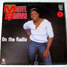 Discos de vinilo: MIQUEL BROWN ··· ON THE RADIO - (MAXISINGLE 45 RPM). Lote 27083771