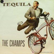 Discos de vinilo: TEQUILA-THE CHAMPS MAXI SINGLE VINILO 1988 EDITADO POR RAYA B-B. Lote 4784841