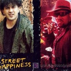 Discos de vinilo: ENZO AVITABILE AND AFRIKA BAMBAATA ··· STREET HAPPINESS - (MAXISINGLE 45 RPM) ··· NUEVO. Lote 24614520
