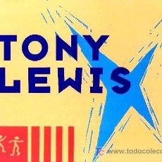 Discos de vinilo: TONY LEWIS ··· LET ME PEOPLE GO - (MAXISINGLE 45 RPM) ··· NUEVO. Lote 26918779