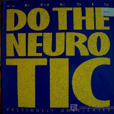 Discos de vinilo: MAXI - GENESIS - IN TOO DEEP/DO THE NEUROTIC - ORIGINAL ESPAÑOL, CHARISMA RECORDS 1986. Lote 4801863