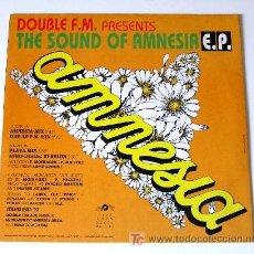 Discos de vinilo: DOUBLE FM ··· AMNESIA MIX / DOUBLE F.M. MX / PLAYA MIX·... - (MAXISINGLE 45 RPM). Lote 26945531