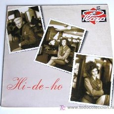 Discos de vinilo: PLAZA ··· HI - DE - HO - (MAXISINGLE 45 RPM). Lote 32916588