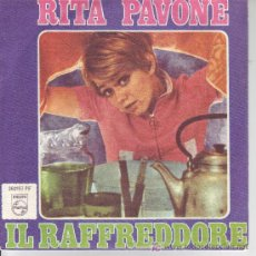 Discos de vinilo: RITA PAVONE SINGLE 1968 SPA PHILIPS . Lote 12671063
