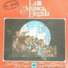 Discos de vinilo: LA MUSICA ELEGIDA ,, EL JAZZ .. ESTUCHE CON 4 LP. Lote 20610884