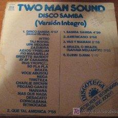 Discos de vinilo: LP VINILO DE TWO MAN SOUND, DISCO SAMBA, VERSIÓN INTEGRA, ESPECIAL DISC-JOCKEYS. Lote 27232562