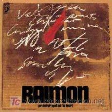 Discos de vinilo: RAIMON. PER DESTRUIR AQUELL QUI L´HA DESERT..LP 33 RPM. DISCOPHON 1970. ESTA NUEVO.. Lote 27333920