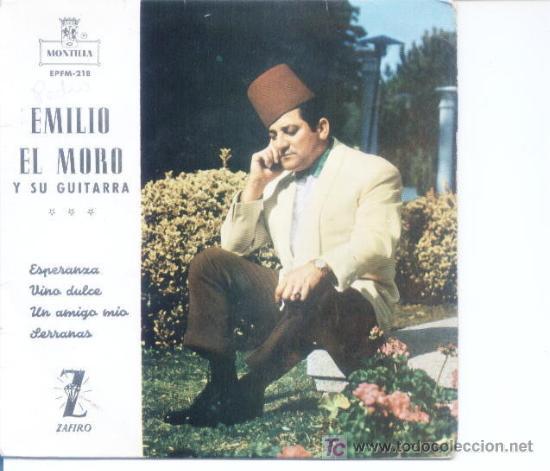 EMILIO EL MORO Y SU GUITARRA.ZAFIRO.1962 (Música - Discos - Singles Vinilo - Solistas Españoles de los 50 y 60)