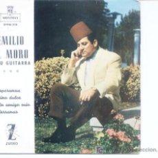 Discos de vinilo: EMILIO EL MORO Y SU GUITARRA.ZAFIRO.1962. Lote 4865447