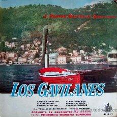 Discos de vinilo: LP-LOS GAVILANES - ORQUESTA DE CONCIERTOS DE MADRIS. DR., FEDERICO MORENO TORROBA. Lote 4868062
