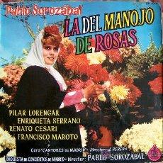 Discos de vinilo: LP-LA DEL MANOJO DE ORSAS - ORQUESTA DE CONCIERTOS DE MADRID Y CORO CANTORES DE MADRID. Lote 4868075
