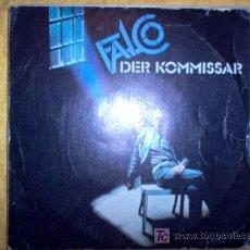 Discos de vinilo: SINGLE - FALCO - DER KOMMISSAR. Lote 220811850