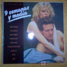 Discos de vinilo: LP - BSO - 9 SEMANAS Y MEDIA. Lote 20206546