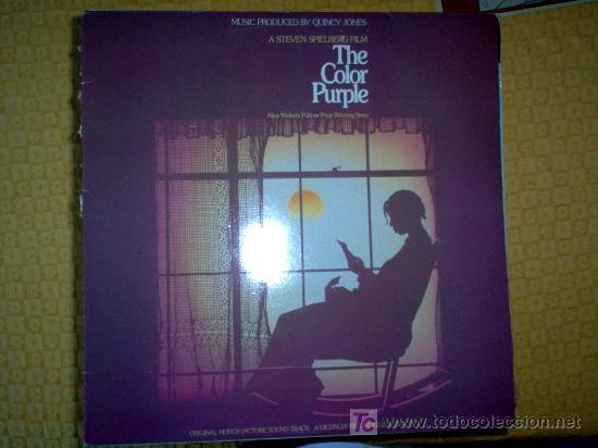 LP DOBLE - BSO - THE COLOR PURPLE (Música - Discos - LP Vinilo - Bandas Sonoras y Música de Actores )