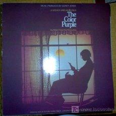Discos de vinilo: LP DOBLE - BSO - THE COLOR PURPLE. Lote 14826087