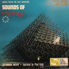Discos de vinilo: SOUNDS OF EXPO 67. Lote 21237157