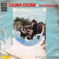 Discos de vinilo: FOLK 5: DUM, DUM ( ADAPTACIÓN TEMA SUD-AFRICANO ) . BUTTERFLY - 1971. Lote 21237159