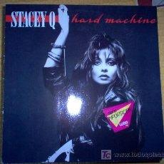 Discos de vinilo: LP - STACEY Q - HARD MACHINE. Lote 7573588