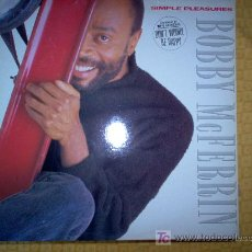 Discos de vinilo: LP - BOBBY MCFERRIN - SIMPLE PLEASURES. Lote 20447861