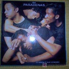 Discos de vinilo: LP - THE PASADENAS - TO WHOM IT MAY CONCERN. Lote 20447864