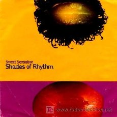 Discos de vinilo: SHADES OF RHYTHM ··· SWEET SENSATION / FREQUENCY - (SINGLE 45 RPM). Lote 27084786