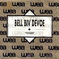 Discos de vinilo: BELL BIV DEVOE ··· POISON - (SINGLE 45 RPM). Lote 20313765