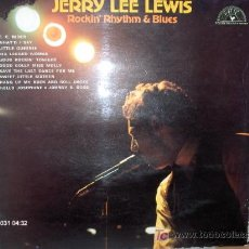 Discos de vinilo: JERRY LEE LEWIS ---- ROCKIN´RHYTHM & BLUES. Lote 22999824