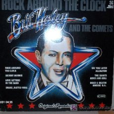 Discos de vinilo: BILL HALEY ---- ROCK AROUND THE CLOCK. Lote 13832159