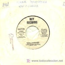 Discos de vinilo: BUENA TEMPERATURA ··· RAP Y CUBATA / RAP Y CUBATA (INTRUMENTAL) - (SINGLE 45 RPM) ··· VINILO NUEVO. Lote 20313980
