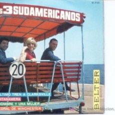 Discos de vinilo: LOS TRES SUDAMERICANOS.1967,BELTER. Lote 4886820