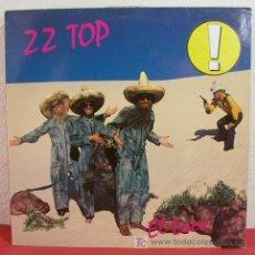 Discos de vinilo: ZZ TOP ( EL LOCO ) GERMANY-1981 LP33 WARNER BROS RECORDS. Lote 4892311