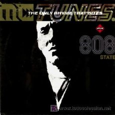Discos de vinilo: MC TUNES VS 808 STATE ··· THE ONLY RHYME THAT BYTES - (SINGLE 45 RPM). Lote 20297277