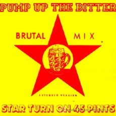 Discos de vinilo: START TURN ON 45 PINT ··· PUMP UP THE BITTER (EXTENDED VERSION) - (SINGLE 45 RPM) ··· NUEVO. Lote 27112822