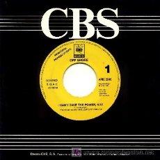 Discos de vinilo: OFF SHORE ··· I CAN'T TAKE THE POWER - (SINGLE 45 RPM) ··· NUEVO. Lote 27185571