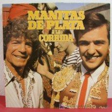 Discos de vinilo: MANITAS DE PLATA A LA CORRIDA (MUERTE DEL TORO, FANDANGO DE MANOLETE, GRANADINA TORERA, BANDERILLAS). Lote 4908072