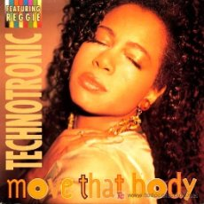 Discos de vinilo: TECHNOTRONIC · MOVE TAHT BODY / MOVE THAT BODY (INSTRUMENTAL) - (SINGLE 45 RPM). Lote 27113718