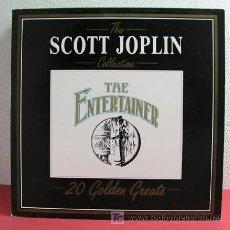 Discos de vinilo: THE SCOTT JOPLIN COLLECTION ( 20 GOLDEN GREATS ) ITALY-1986 LP DEJA VU. Lote 4965670