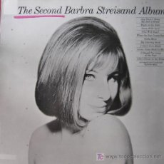 Discos de vinilo: BARBARA STREISAND. THE SECOND ALBUM. LP 33 RPM CBS 1985.. Lote 26304769